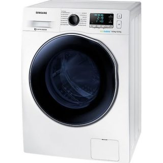 Masina de spalat rufe cu uscator Samsung WD90J6A10AW/LE