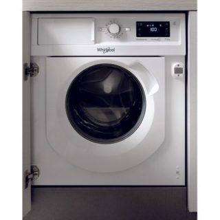Masina de spalat rufe cu uscator incorporabila Whirlpool BIWDWG75148EU